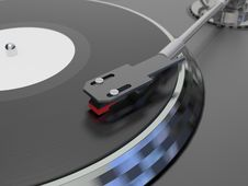 Free Vinyl Player Royalty Free Stock Photography - 14153717
