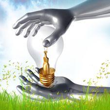 Idea Creation Process Icon Symbol Royalty Free Stock Images
