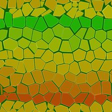 Abstract Colourful Background From Bricks Stock Image