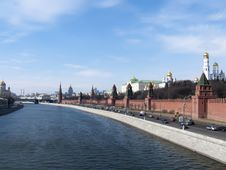 Free The Kremlin Quay Stock Photos - 14155233