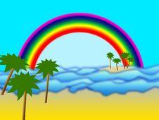 Free Rainbow Island Stock Photos - 14155393
