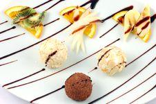 Free Fresh Dessert Stock Photography - 14156522