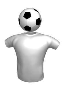 Soccer Icon Symbol Stock Images