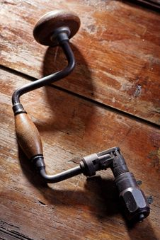 Free Old Hand Drill Stock Image - 14157231
