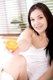 Free Eating Fruit Stock Photography - 14157682