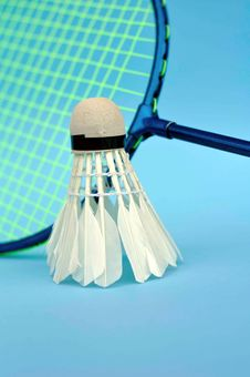 Free Badminton Equipment Royalty Free Stock Photos - 14158368