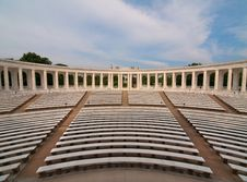 Memorial Amphitheater Royalty Free Stock Photos