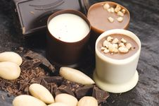 Chocolates With Sweet Almonds