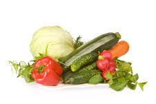 Assorted Fresh Vegetables Royalty Free Stock Image