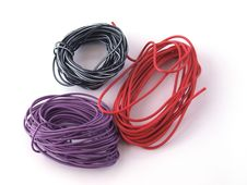 Free Multicoloured Wire Stock Image - 14159581