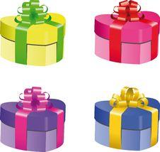 Free Gift Box Set Stock Photos - 14159713