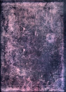 Texture Of Old Book Cover Royalty Free Stock Photography