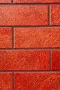 Free Dark Red Brick Tile Wall. Royalty Free Stock Photo - 14162475