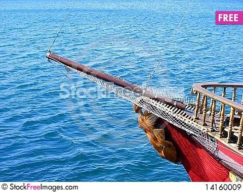 Free Nasal Mast Sailboat Royalty Free Stock Images - 14160009