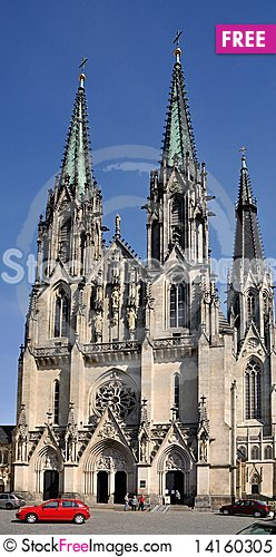 Free Beautiful Cathedral Royalty Free Stock Photo - 14160305