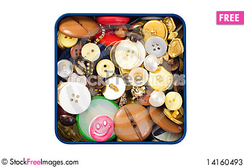 Free Button Box Stock Photos - 14160493