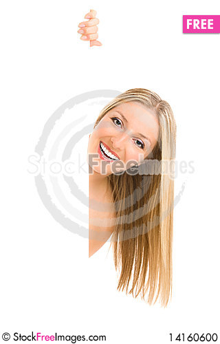 Free Woman And White Board Stock Photo - 14160600