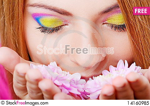 Free Young Pretty Girl Royalty Free Stock Photo - 14160985