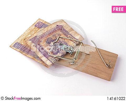 Free Mony Trap. Stock Photography - 14161022