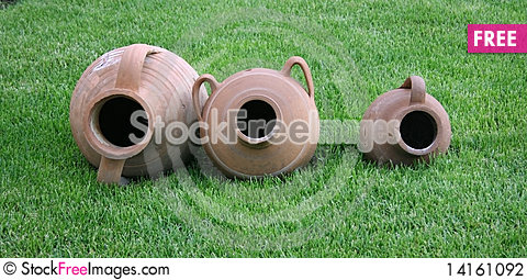 Free Earthen  Potteries Stock Photography - 14161092