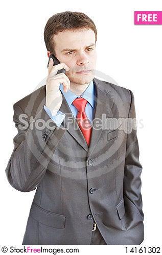 Free Businessman Stock Photography - 14161302