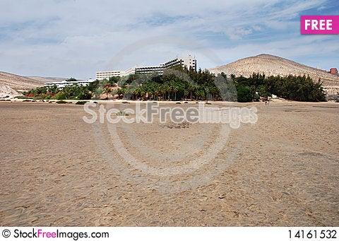 Free Fuerteventura Resort Stock Photography - 14161532