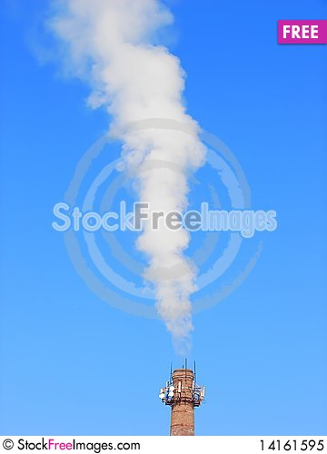 Free Smoke From The Chimney Royalty Free Stock Photo - 14161595