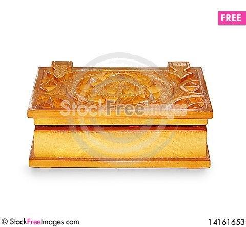 Free Wooden Casket Stock Photos - 14161653