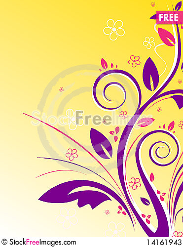 Free Floral Background Stock Photos - 14161943