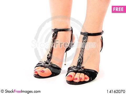 Free Beautiful Legs Of Young Woman Stock Photo - 14162070