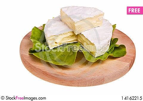 Free Round Camembert Cheese. Royalty Free Stock Photo - 14162215
