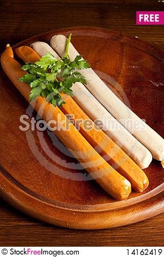 Free German Sausage Royalty Free Stock Images - 14162419