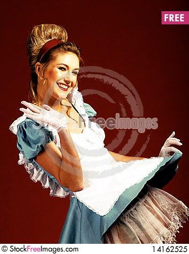 Free Joyful Studio  Woman S Portrait Royalty Free Stock Photo - 14162525