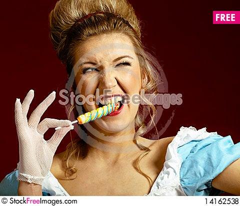Free Lollipop. Royalty Free Stock Photos - 14162538