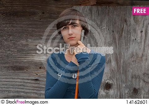 Free Ladying Posing Stock Image - 14162601