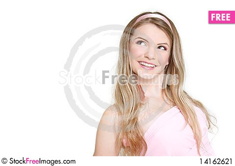Free Young Happy Girl Stock Image - 14162621