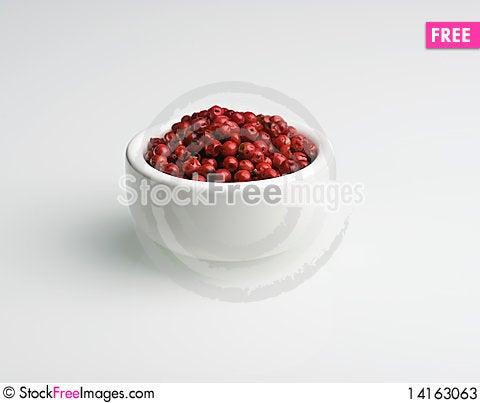 Free Pink Peppercorns Stock Photos - 14163063