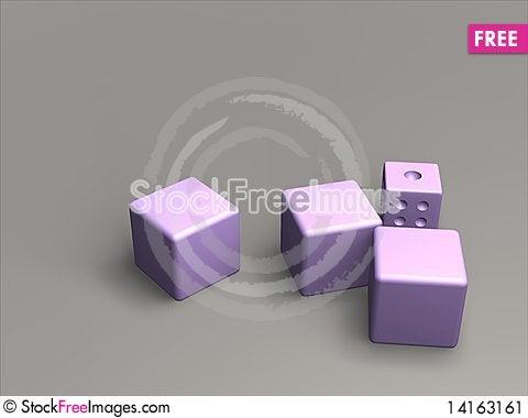 Free Dice Stock Image - 14163161