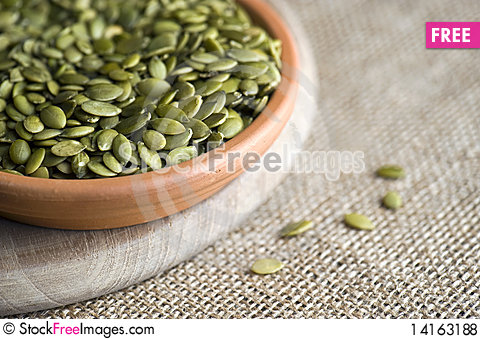 Free Pumpkin Seeds - Pepita Royalty Free Stock Photos - 14163188