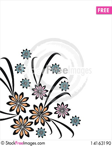 Free Floral Elements Stock Photo - 14163190