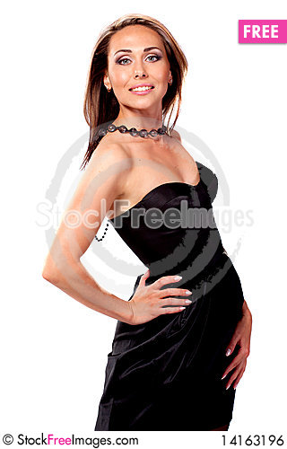 Free Portrait Of Sexy Woman Royalty Free Stock Image - 14163196