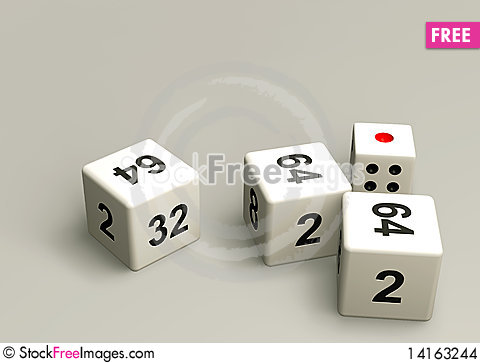 Free Dice Stock Images - 14163244