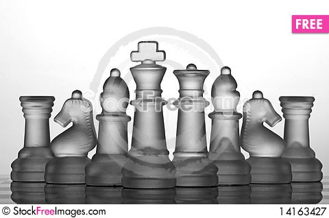 Free Chess Set Collection: The Best Team Royalty Free Stock Photography - 14163427