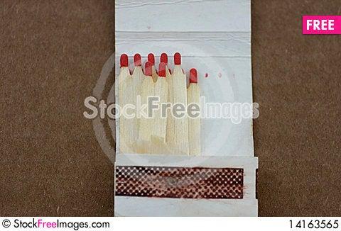 Free Matchbox Royalty Free Stock Photo - 14163565