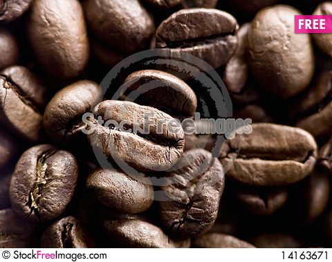 Free Coffe Beans Stock Image - 14163671