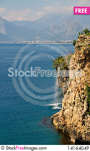 Free Waterfall Royalty Free Stock Images - 14164049