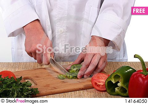 Free Cook Cuts Stock Photo - 14164050