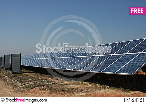 Free Solar Panel Stock Image - 14164151