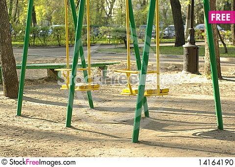 Free Swing Set Stock Photo - 14164190