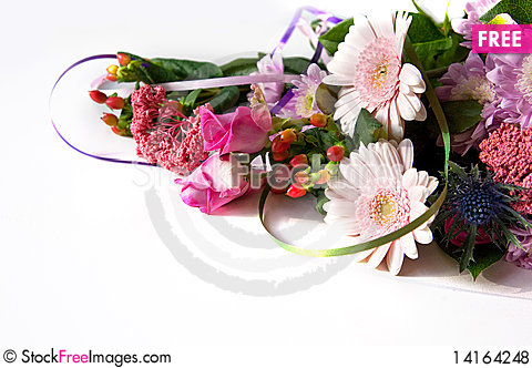 Free Flowers Background Royalty Free Stock Photos - 14164248